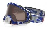 LUNETTE OAKLEY Mayhem Pro Troy Lee Designs Edition écran Prizm MX Black Iridium lunettes