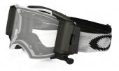 LUNETTE OAKLEY Airbrake Race Ready Roll-Off blanc Matte Speed écran transparent lunettes
