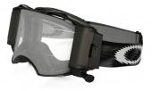 LUNETTE  OAKLEY Airbrake Race Ready Roll-Off Jet noire Speed écran transparent lunettes