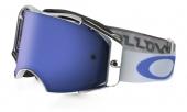 LUNETTE OAKLEY Airbrake Villopoto High Octane White écran Ice Iridium lunettes