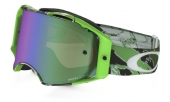 LUNETTE OAKLEY Airbrake Eli Tomac Signature Series écran Prizm MX Jade Iridium lunettes