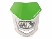 Plaque phare POLISPORT Halo LED vert/blanc plaques phare