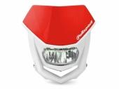 Plaque phare POLISPORT Halo LED rouge/blanc plaques phare