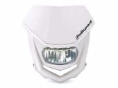 Plaque phare POLISPORT Halo LED blanc plaques phare