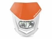 Plaque phare POLISPORT Halo LED orange/blanc plaques phare