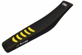 Housse de selle Blackbird Double Grip 3 noir/jaune Husqvarna 250 FC 2014-2017 housses de selle