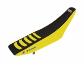Housse de selle BLACKBIRD Double Grip 3 jaune/noir Suzuki 250 RM-Z 2010-2017 housses de selle