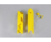 Protections de fourcheUFO jaunes HUSQVARNA 350 FC 2014-2017 protections fourche