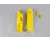 Protections de fourcheUFO jaunes HUSQVARNA 250 TC 2014-2017 protections fourche