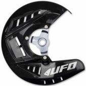 Protège-Disques Avant Ufo NOIR Husqvarna 250 TC 2015-2017 protege disque ufo