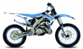 Kit Déco Kutvek Chrono bleu Tm MX 250 F 2008-2015 kit deco
