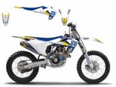 Kit déco Blackbird Dream Graphic III Husqvarna 250 TC 2014-2017 kit deco