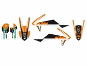 Kit déco Blackbird Dream 3 KTM 50 SX 2016-2017 kit deco