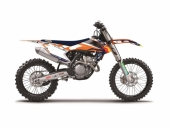Kit déco BLACKBIRD Team Trophy replica 2017 KTM SX/SX-F 125 et + 2013-2015  kit deco