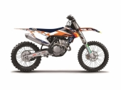Kit déco BLACKBIRD Team Trophy replica 2017 KTM  EXC/EXC-F 125 et + 2014-2016 kit deco