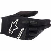 Gants Cross ALPINESTARS RACEFEND BLEU/BLANC/ORANGE FLUO 2018 gants