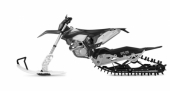 KIT MOTO NEIGE CAMSO DTS 129 HONDA 250 CR-F 2004-2009 kit moto neige