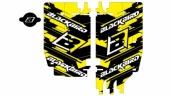 kit deco grille de  radiateur SUZUKI  250 RM-Z 2010-2015 kit deco radiateur