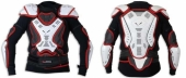 Gilet de Protection UFO Off-Road Pro Ergo adulte avec ceinture noir/blanc gilets protection