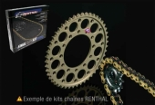 Kits chaine Renthal  COURONNE ALU CHAINE R1  505 SX-F  2007-2009 kit chaine