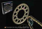 Kits chaine Renthal  COURONNE ALU  450 RMZ/RMZX  2008-2016 kit chaine