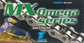 chaine tsubaki  520 mx omega a joints thoriques  livree avec attache rapide chaine