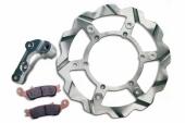 kit oversize type batfy braking disque avant flotant diametre 270mm disques de frein
