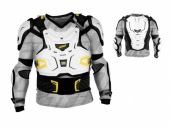 Gilet Leatt Brace Adventure blanc  gilets protection