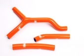 kit durite samco orange  KTM 250 SX 2003-2006 durite radiateur