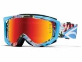 Lunettes Smith Fuel V2 Sweat XM BLEU BURNOUT lunettes