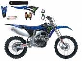 kit deco replica yamaha monster energy  250 YZ -F  2010-2013 kit deco