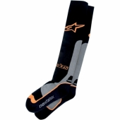 chaussettes alpinestars  COOLMAX PRO orange/noir jambieres chaussettes