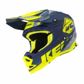 CASQUE KENNY TRACK  NAVY / JAUNE FLUO / MATT 2019 casque kids