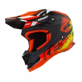 CASQUE KENNY TRACK  NOIR / ORANGE 2019 casque kids