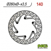 DISQUE DE FREIN AVANT NG ROND KTM 350 EXC-F 2012-2017 disques de frein
