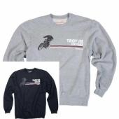 SWEAT TLD DESERT RACER CREW  NAVY/GRIS sweatshirt
