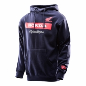 SWEAT TLD HONDA WING BLOCK BLEU sweatshirt