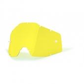 ecran jaune anti buee 100 % racer accessoires lunettes