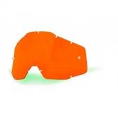 ecran orange anti buee 100 % racer accessoires lunettes