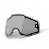 double ecran anti-buee fume 100 % racer accessoires lunettes