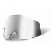 ecran silver miroir anti-buee 100 % racer accessoires lunettes