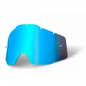 ecran bleu miroir anti-buee 100 % racer accessoires lunettes