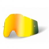 ecran gold miroir anti-buee 100 % racer accessoires lunettes