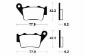 Plaquettes de frein arrière BREMBO SD / SX plaquettes de frein
