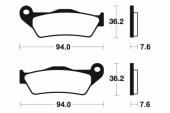 Plaquettes de frein avant BREMBO 600TT 1993-2003 plaquettes de frein