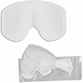 ecran ufo nazca/nazca evolution fume pour tear off+ 6 tear-offs accessoires lunettes