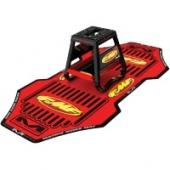 tapis de paddock fmf 181x61cm rouge tapis de paddock