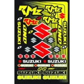 planche auto collants one suzuki rmz planche auto collants