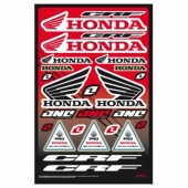 planche auto collants one honda crf planche auto collants