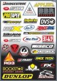 Planche stickers FX SPONSOR  planche auto collants